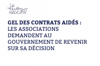 Contrats aidés: le Mouvement associatif se mobilise